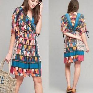 Maeve Geo Printed Kimono Dress